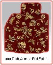 Intro-Tech Oriental Sultan Theme Car and Truck Floor Mats. Give that Far East feeling to your car.