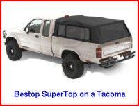 Bestop SuperTop on a Tacoma