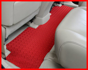 Lloyd Mats One Piece Rear Floor Mat to keep your feet and carpeting dry and clean.