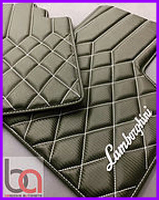 Bespoke Auto Mats Hybrid Leather/PVC Car Floor Mat