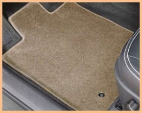 Covercraft Plush Carpet Car Mat is made from a thick, durable nylon yarn.