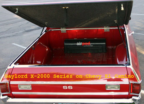 Gaylord X-2000 Tonneau Cover on Chevy El Camino Truck Bed Cover