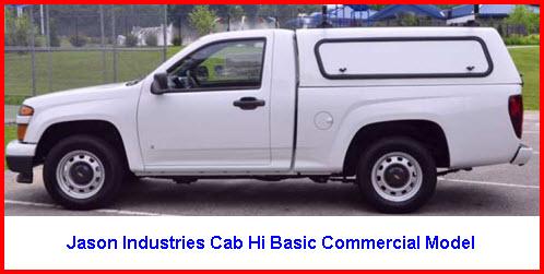 Jason Truck Caps Hi Basic Commercial Model