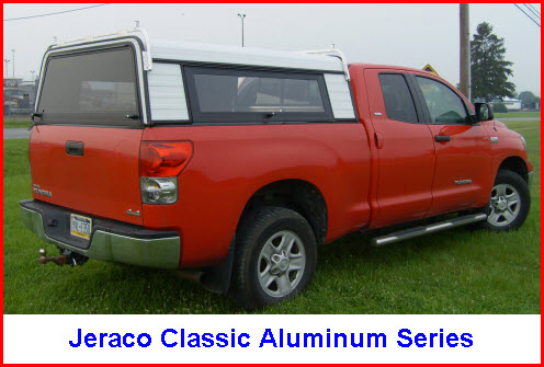 Jeraco Truck Caps In Modern Fiberglass Or Traditional