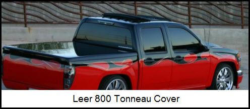 Leer Tonneau Covers Sleek Glass Smooth Low Profile Fiberglass