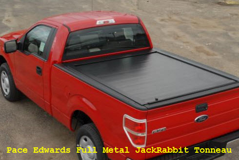 Pace Edwards Tonneau Cover Full Metal JackRabbit Roll Top Hard Truck Bed Cover
