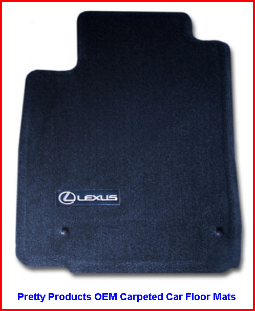Pretty Car Mats by Pretty Products LLC OEM Carpeted Car Floor Mats