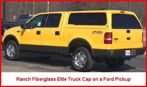 Ranch Elite Fiberglass Truck Caps
