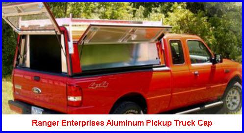 Ranger Enterprises Aluminum Pickup Truck Caps