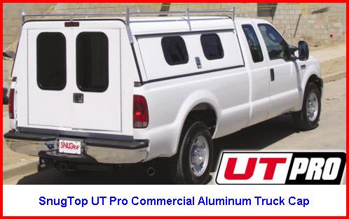 SnugTop UT Pro Model Commercial Aluminum Truck Cap