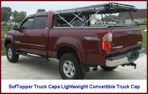 SofTopper Truck Caps Lightweight Convertible Truck Toppers