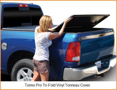 Tonno Pro Tri-Fold Tonneau Cover