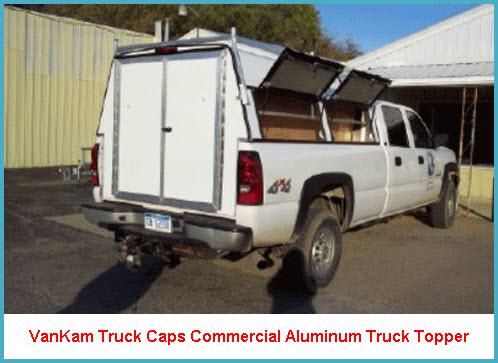 Vankam Truck Caps Have Made Commercial Aluminum Truck