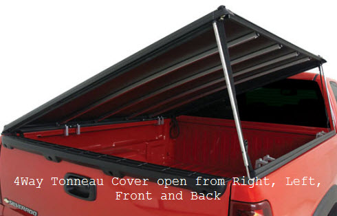 4Way Tonneau Cover Truck Bed Cover