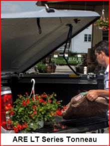 ARE LT Series Tonneau Cover is a fiberglass tonno with plenty of features to make you happy.