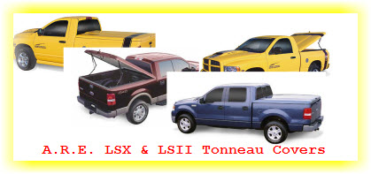 A.R.E. LSX and LSII Hard Fiberglass Tonneau Covers