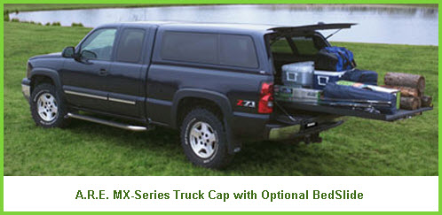 ARE MX Series Truck Cap with BedSlide