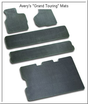Avery Grand Touring Car Mat