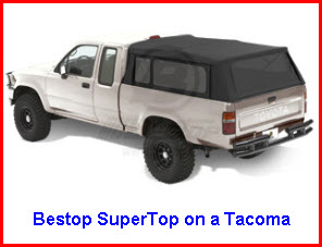 Bestop SuperTop on a Tacoma