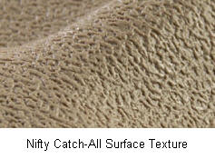 Lund (Nifty) Catch-All Surface Texture for a good non-slip experience.