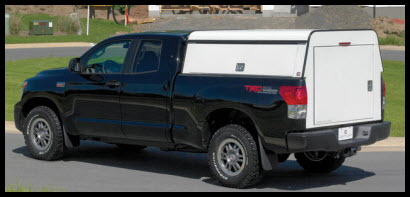 Century DCU (Deluxe Commercial Unit)Aluminum Truck Cap offers a broad selection of door, windows and toolboxes.