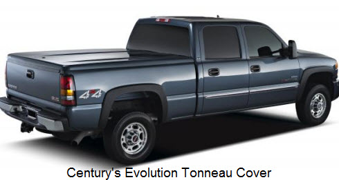 Century Evolution Tonneau Cover is a low profile, fiberglass tonno cover.