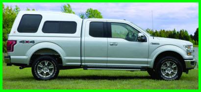 Century T Class Fiberglass Truck Cap is a high rise design with optional Radius doors and windows.