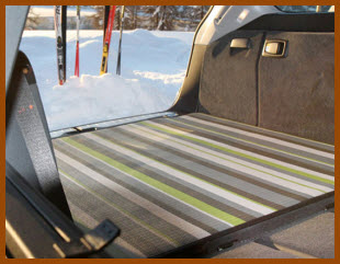 CurranCAR Cargo Mats compliment the aesthetic look and feel of your CurranCAR Car Floor Mats.