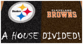 FanMats House Divided Logo Floor Mats for cars, trucks, SUV's, big rigs.