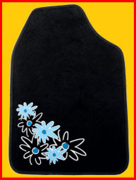 Floral Theme Car Mat from Plasticolor
