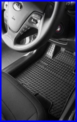 Frogum Custom Fit Rubber Car Floor Mats