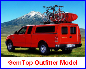 GemTop Truck Caps OutFitter Model