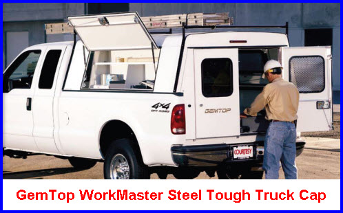 GemTop Truck Caps WorkMaster Model