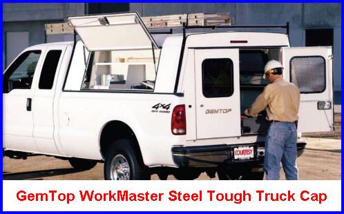 GemTop Truck Caps WorkMaster Model