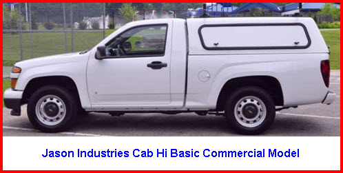 Jason Truck Caps Hi Basic Commercial Model