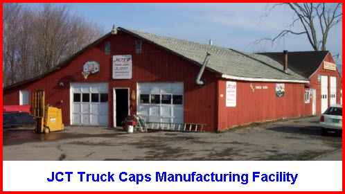 JCT Truck Caps Manufacturing Facility in Lowville New York