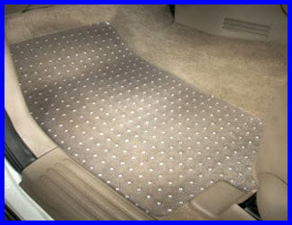 Khurana Industries Clear Vinyl Car Floor Mats.
