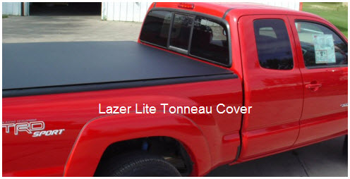 The LazerLite Tonneau Cover is a very high strength truck bed cover custom painted to match your pickups oem paint job.