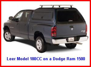Leer Model 180CC Truck Cap Topper