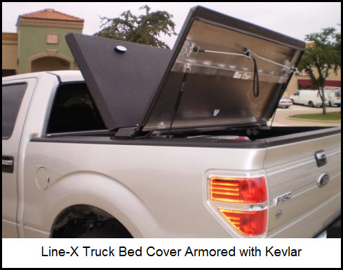 Line-X Truck Bed Cover