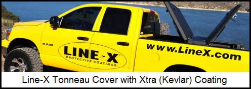 Line-X Tonneau Cover