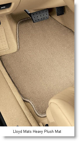 Lloyd Mats Manufactures the Luxe, Heavy Plush and Ultimat Car Floor Mats.