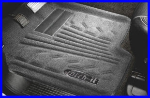 Lund International's Catch-It Carpeted Floor Liner Provides All Weather Protection.
