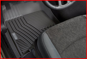 The Michelin EdgeLiner is a high quality truck floorLiner made from high pressure injected TPE resin.