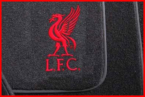 Official Car Mats Sports Branded Style Car Floor Mat with Liverpool Crest. Support your Club!