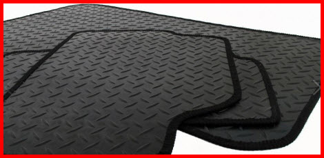 Official Car Mats Also Makes Rubber Car Floor Mats for the Messy Winter and Rainy Months.