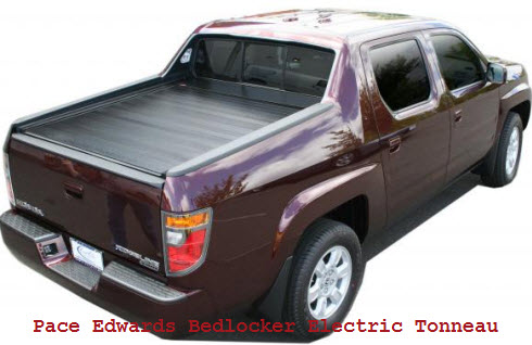Pace Edwards BedLocker Electric Roll-Top Tonneau Cover Roll Top Truck Bed Cover