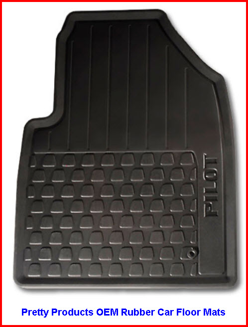 Pretty Car Mats by Pretty PRoducts LLC OEM Rubber Car Floor Mats