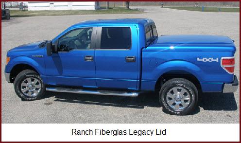 Ranch Legacy Tonneau Cover - Fiberglass Pickup Truck Lids