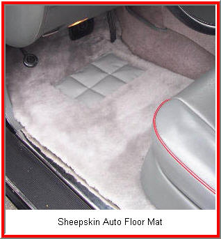 Lexus Floor Mats in Sheepskin -  Automobile Floor Mats
